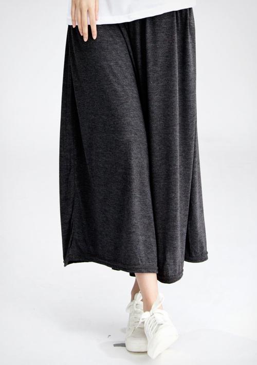 樂活舒適棉質口袋長褲裙