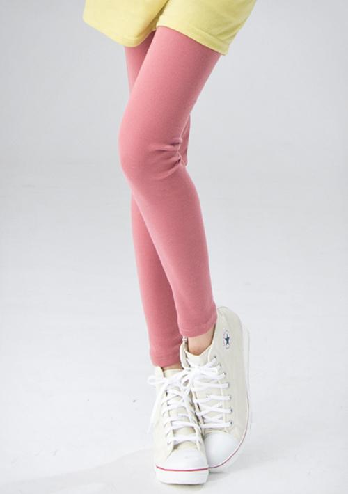 輕甜玩色糖果素面顯瘦內搭褲