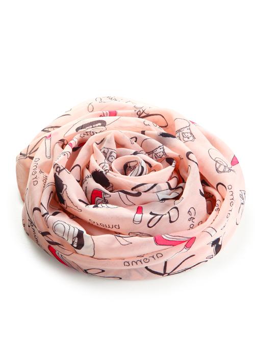 時尚名媛雪紡長絲巾