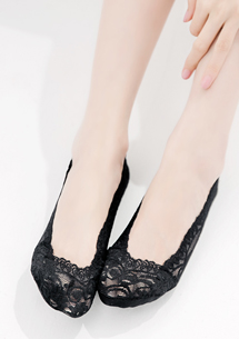 花邊蕾絲矽膠防滑隱形襪