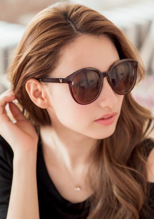 韓版潮流圓框太陽眼鏡
