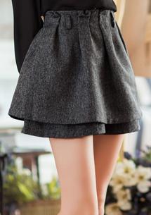 個性典範鬆緊褲裙
