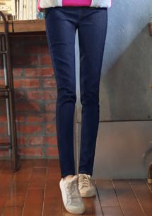 率性修身彈性牛仔褲