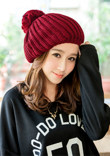 甜美首選蓓蕾毛帽
