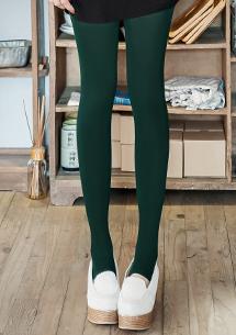 極緻美腿素面彈性踩腳襪