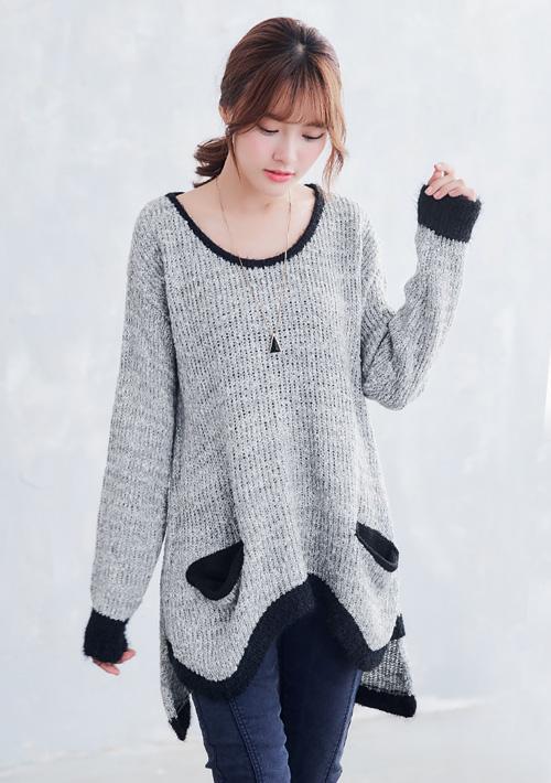 雅致品味毛海針織毛衣