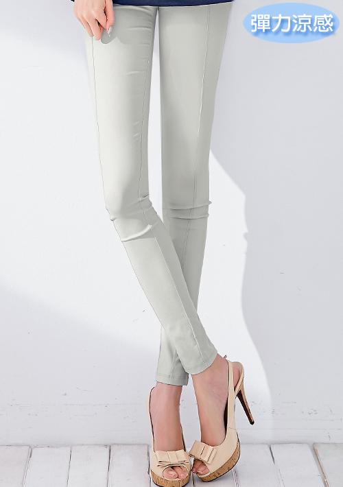 超修身顯瘦彈力涼感內搭褲