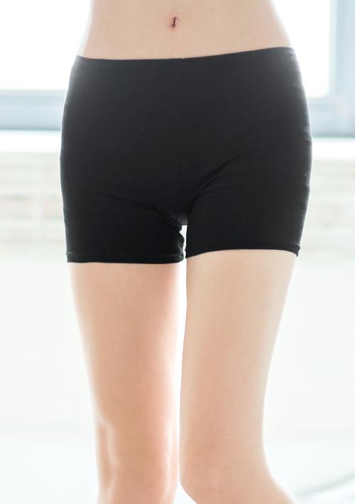 純色百搭舒適平口安全褲