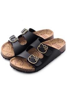 KITTY釦環造型勃肯鞋