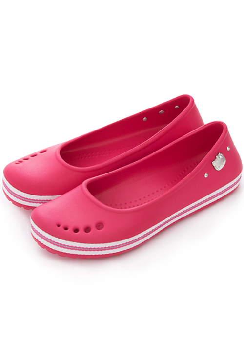 Kitty條紋輕量娃娃鞋