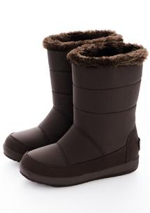 時尚俏麗防風內絨毛中筒靴