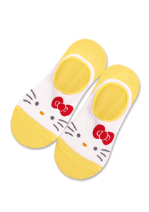 Hello Kitty親膚防脫落船型襪