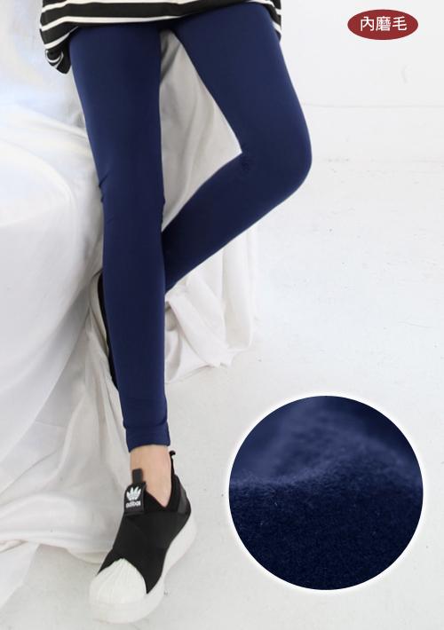 暖絲絨舒柔彈性內搭褲
