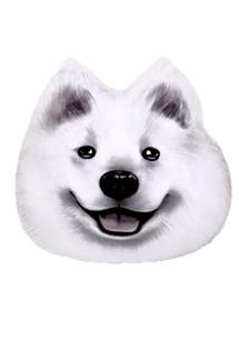 可愛狗狗造型大枕頭
