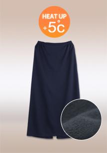 保暖內刷毛防潑水一片裙