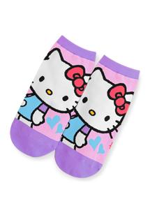 Hello Kitty舒適棉質短襪