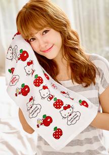 Hello Kitty  親膚柔感紗布毛巾
