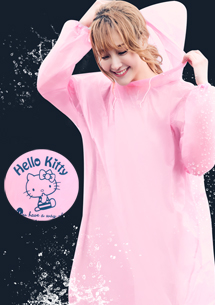 Hello Kitty 超萌輕便雨衣