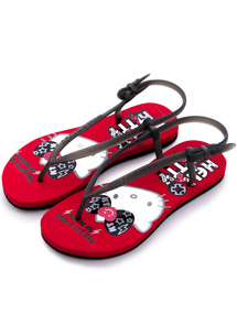 Hello Kitty 經典夏日夾腳涼鞋