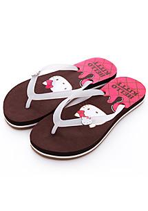 Hello Kitty 萌臉夾腳拖鞋