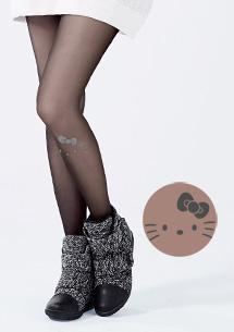 Kitty防勾紗透膚絲襪
