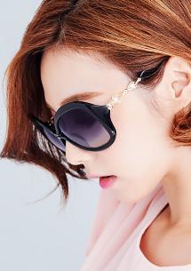 韓流珍珠太陽眼鏡