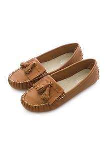 流蘇舒軟豆豆鞋