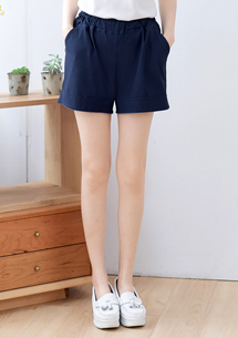 高挑顯瘦涼感短褲