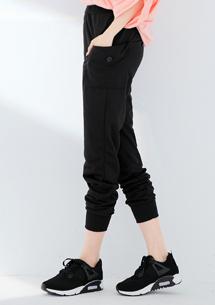 寬鬆口袋質感休閒褲