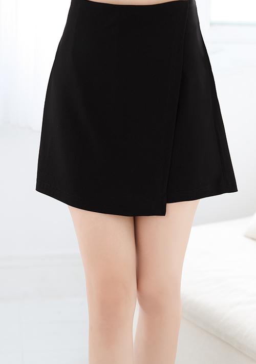 韓感設計前片式褲裙