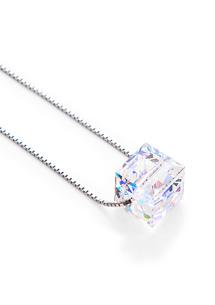亮彩氣息晶鑽項鍊