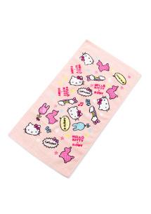 Hello Kitty舒柔毛巾