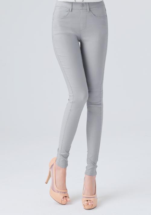 名模纖腿超彈鉛筆褲
