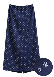印花遮陽抗曬圍裙