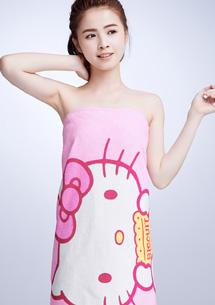 Hello Kitty棉柔浴巾