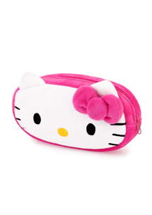 Hello Kitty絨毛收納包