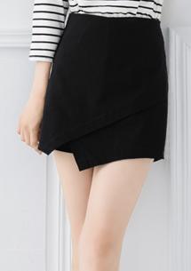 新穎設計超彈短褲裙