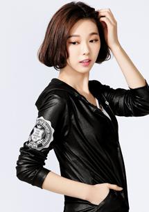 時尚光澤感拉鋉外套