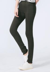 3D立體剪裁顯瘦鉛筆褲
