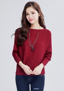 優雅知性針織毛衣