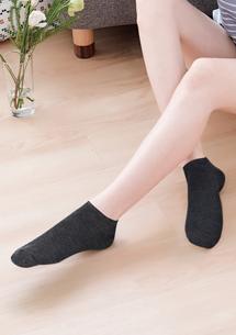 百搭柔棉短襪