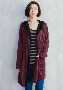 韓流潮款針織開襟外套