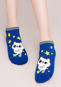 爽爽貓柔感短襪