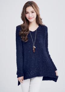 輕柔甜氛亮蔥針織毛衣