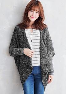 韓系開襟罩衫毛衣外套