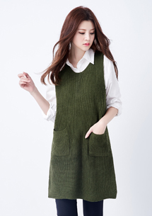【限三天$249】韓風個性長版針織背心