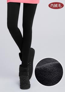 保暖舒適彈力絨毛褲襪