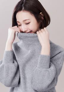 輕柔細緻針織短版毛衣