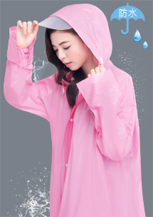 Kitty防水袖口雨衣