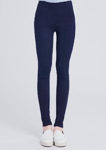 激瘦美型彈性窄管褲